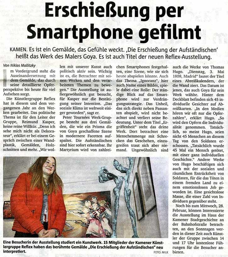 Erschiessung per Smartphone gefilmt